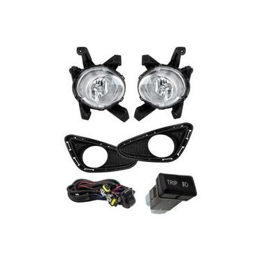 Kit Farol De Milha Hyundai Hb20 / Hb20s 13 Shocklight