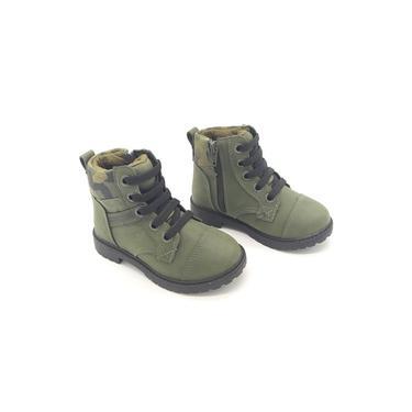 Imagem de Bota Rock Verde Militar Primeiros Passos Klin