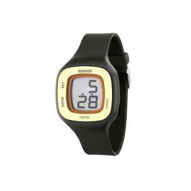 ca18f30b236 Relógio Feminino Digital Speedo 65030l0ebnp1 - Preto