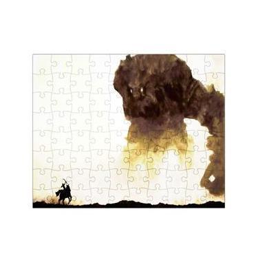 Quebra-Cabeça Personalizado 90 Peças - 20 cm x 30 cm Shadow of the Colossus (BD30)