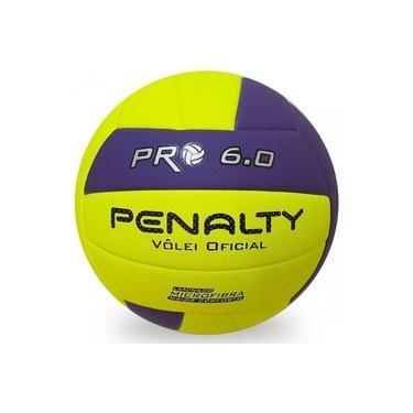 Bola Vôlei De Quadra Voleibol 6.0 Pro X Oficial Penalty
