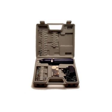 Mini Retífica Elétrica sem fio com mini furadeira,Acompanha