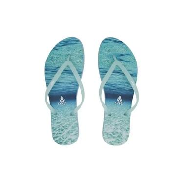 Chinelo Escape Nature Blue - Reef