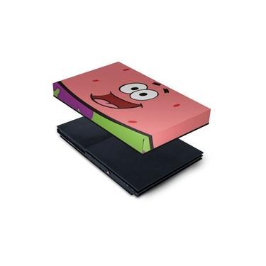 Capa Anti Poeira PS2 Slim - Patrick Bob Esponja