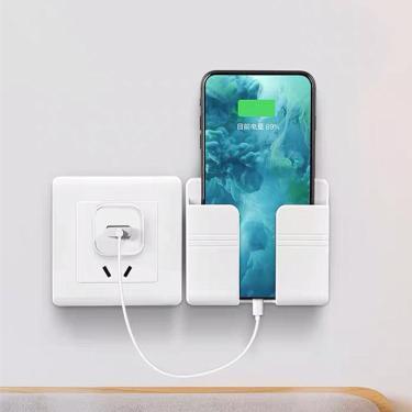 Carregador de parede gancho suporte do telefone móvel para iphone xiaomi ios universal celular