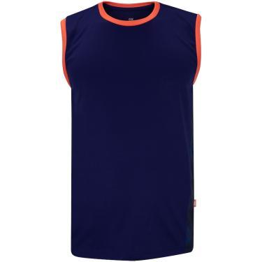 Camiseta Regata Oxer Recorte Print - Masculina Oxer Masculino