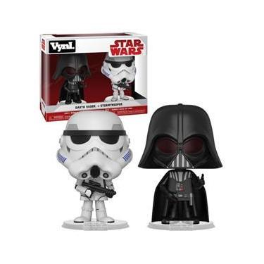 Imagem de Funko Vynl Star Wars Darth Vader & Stormtrooper 2-pack