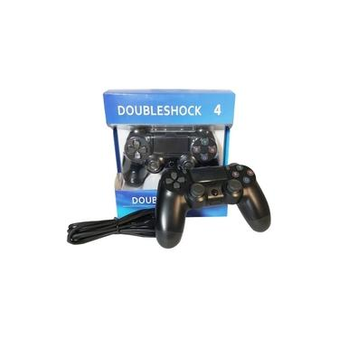Controle Ps4 Com/fio Joystick Doubleshock 4 Gamer Wired