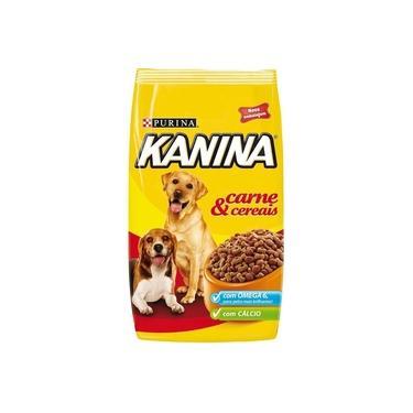 Ração Para Cães Kanina Adulto Carne E Cereais 15 Kg - Purina