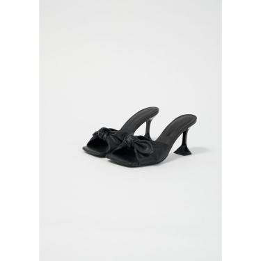 Sandália Salto Taça Lança Perfume Sandalia Preto  feminino