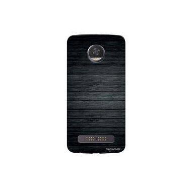 Capa Personalizada Para Motorola Moto Z2 Play Xt1710 Madeira Queimada - Tx44