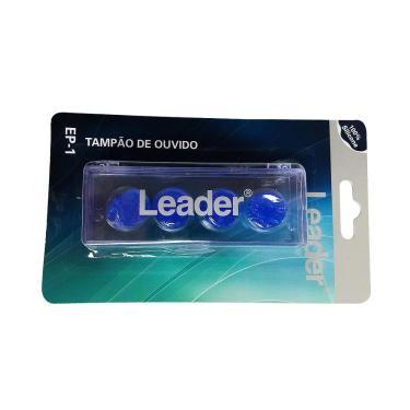 Tampão de Ouvido leader lD228 Azul