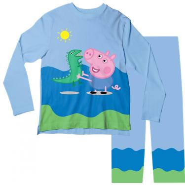 Pijama Infantil George Azul Pjml