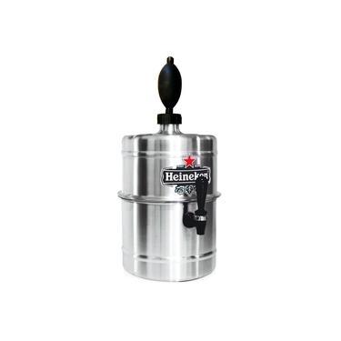 Imagem de Chopeira Portátil 5,1 L P Cervejas / Aluminio Heineken