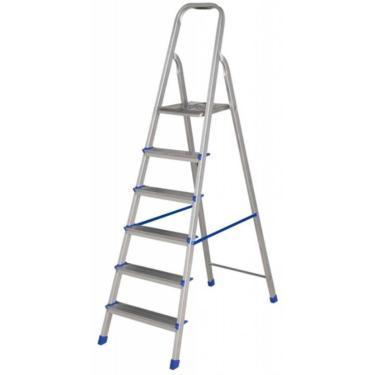Imagem de Escada De Alumínio Doméstica 6 Degraus Alustep
