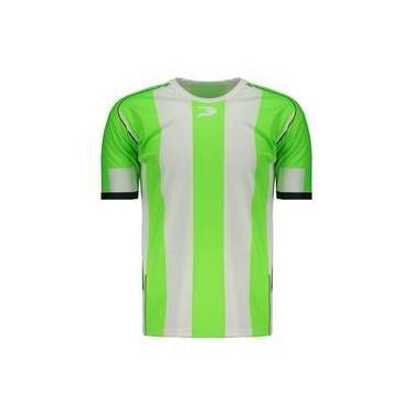 Camisa Placar Estampada Morumbi Branca E Verde