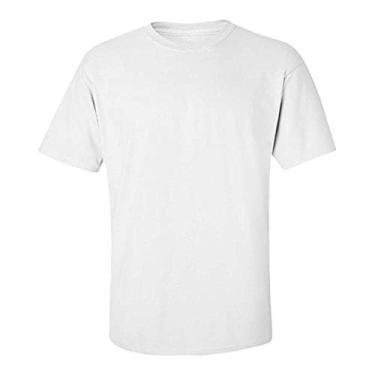 Camiseta Para Sublimação Branca M 100% Poliéster – 1 unidade
