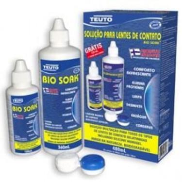 Imagem de Bio Soak Solução Multiuso para Lentes de Contato Pack 360ml + 120ml TEUTO