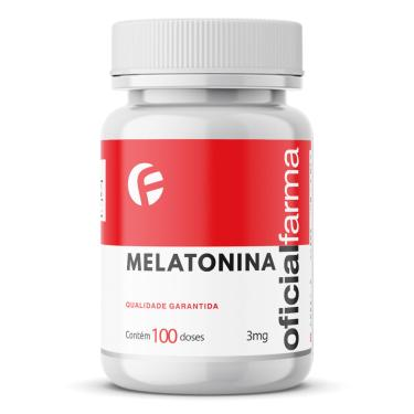 Melatonina 3Mg 100 Doses Oficialfarma
