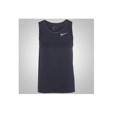 Camiseta Regata Nike Zonal Cooling Relay Running - Masculina - CINZA ESCURO  Nike 6b6bac4ae1a