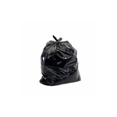 Saco De Lixo Preto 40 Litros Normal Com 100 Unidades