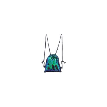 Saco de cord?o Saco universl Lantejoula Ladies Shoulder Crossbody Bag S¨®lidos