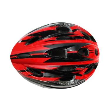 Imagem de Capacete Ciclista Adulto Regulagem Bike Ciclismo - Vermelho