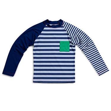b380a3bee Camiseta Raglan Vice-Versa Azul- Infantil Menino 6A Y