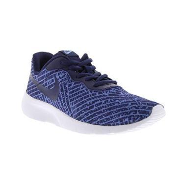 Tenis Nike Tanjum Print Gs Tamanho:35;Cor:Azul
