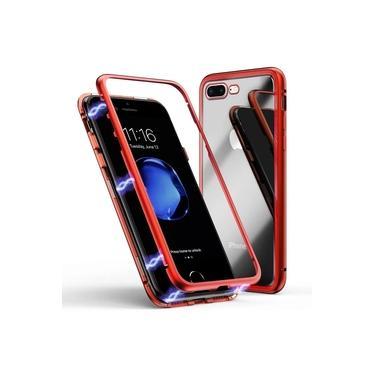Capa Capinha Case De Proteção Magnética Anti Impacto Iphone 6 6s Vermelha