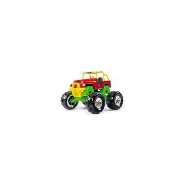 Imagem de Carro Infantil Miniatura Super Jipe Monster Poliplac