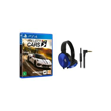 Project Cars 3 PS4 + Fone Azul P2