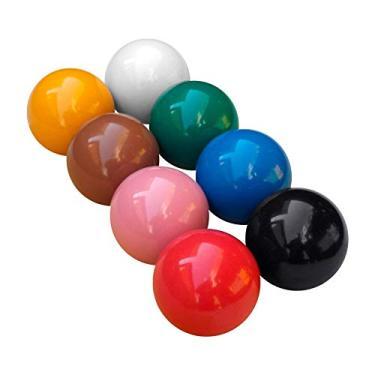 Bola de Sinuca e Bilhar Snooker Alto Brilho 54 mm 8 Peças