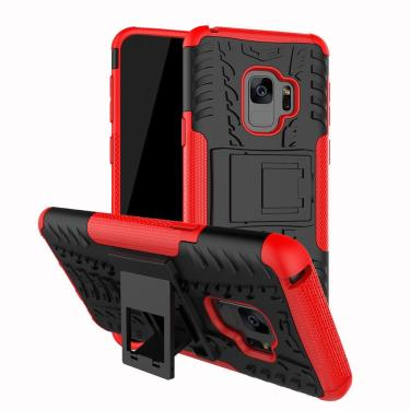 c05140556 Capa Protetora Armadura 2x1 para Samsung Galaxy S9 -Tela 5.8-Vermelha