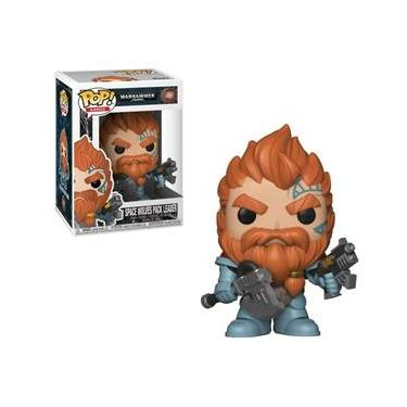 Pop Funko 502 Space Wolves Pack Leader Warhammer 40000