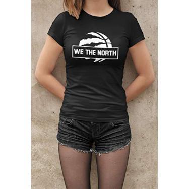 Camiseta Baby Look Fãs de Esportes Basquete E17 Feminino Preto Tamanho:GG
