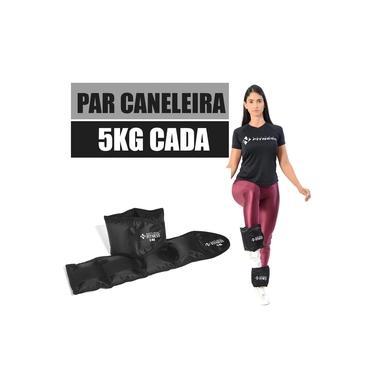 Imagem de Par Caneleira com Peso 5 Kg Natural Fitness