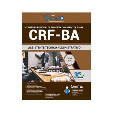 Imagem de Apostila Crf Ba - Assistente Técnico Administrativo