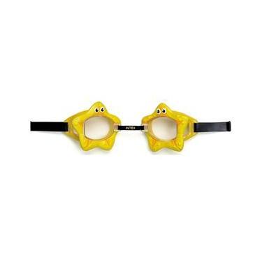 Óculos De Natação Play Bichinhos Animados Estrela Amarela - Intex