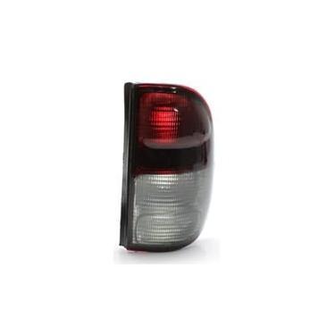 Lanterna Traseira Da Volkswagen Saveiro G2 97 98 99 00 01 02 Bicolor Fumê (Lado Direito - Passageiro)