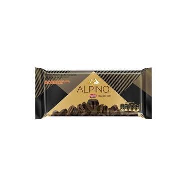 Chocolate Nestlé Alpino Black Top 90g Embalagem com 14 Unidades