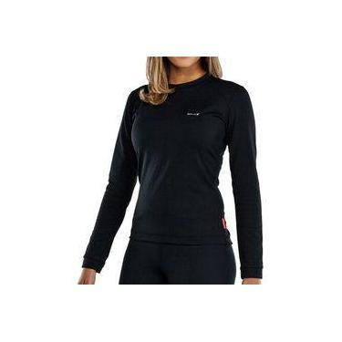 Blusa Esportiva Camiseta Isolamento térmico Americanas  696c89067b929