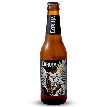 Cerveja Coruja Lager Long Neck 355ml