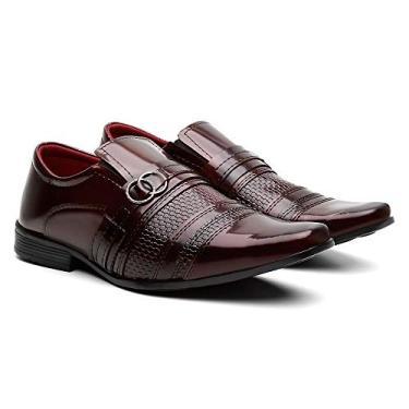 Sapato Social Verniz Florença - SF Shoes (39)