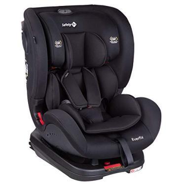 Cadeirinha com Isofix Everfix 0 a 25kg Safety 1st, Full Black