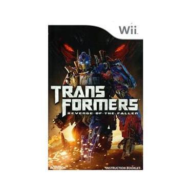 Jogo Transformers Revenge Of The Fallen  Para Nintendo Wii