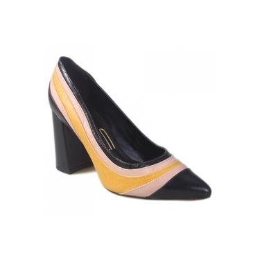 Sapato Scarpin Uza Couro D14G618B0005