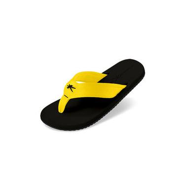 Chinelo Sandália Kenner Nk5.1 Basic Amarelo / Preto