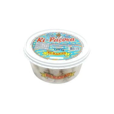 Pacoca Rolha Kipacoca Choc Bco 1,01kg 50un