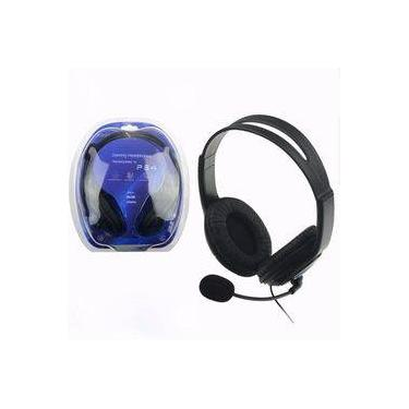 Fone Headset Gamer Fone Para Playstation 4 Ps4 Com Microfone - B-max